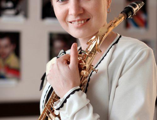 Ольга Біленко, саксофон